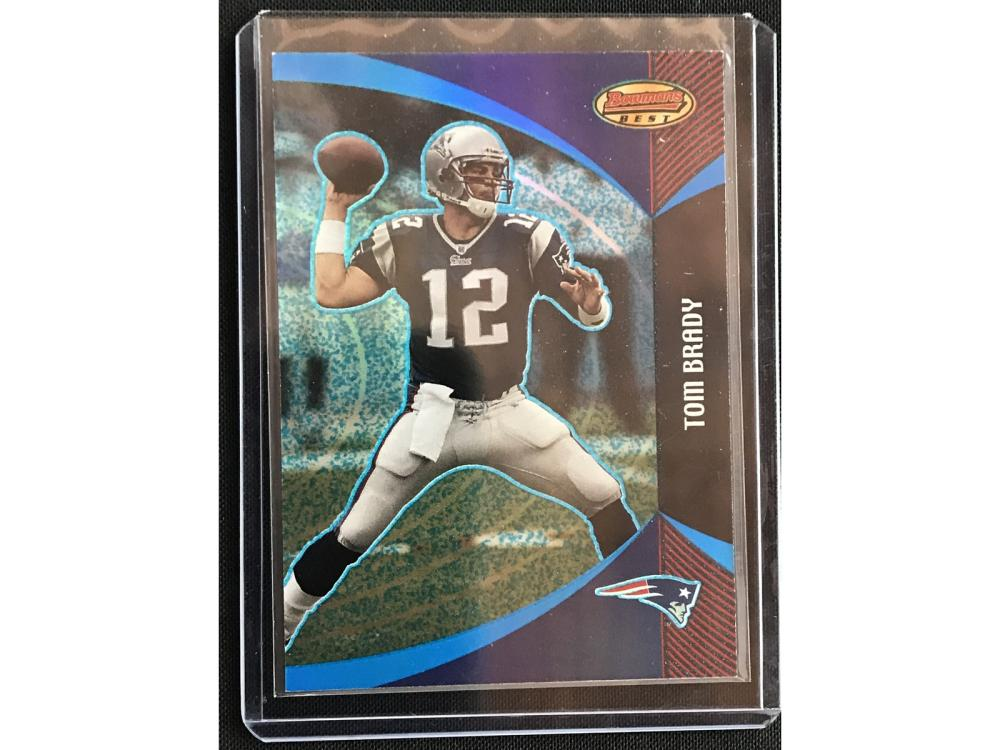 2003 Bowman's Best Tom Brady Refractor