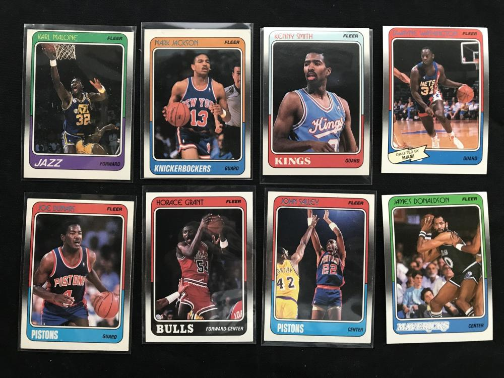 Over 500 1988 Fleer Basketball Cards