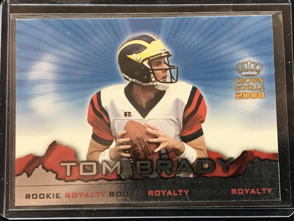 2000 Crown Royale Tom Brady Rookie