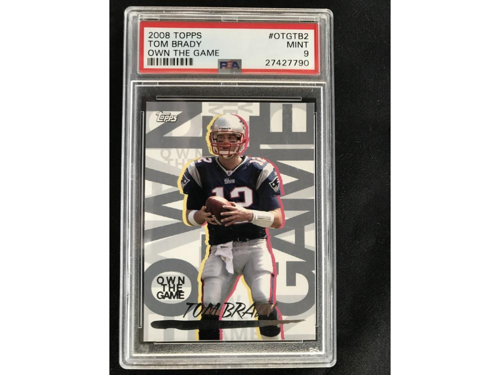 2008 Topps Tom Brady Own The Game Psa 9