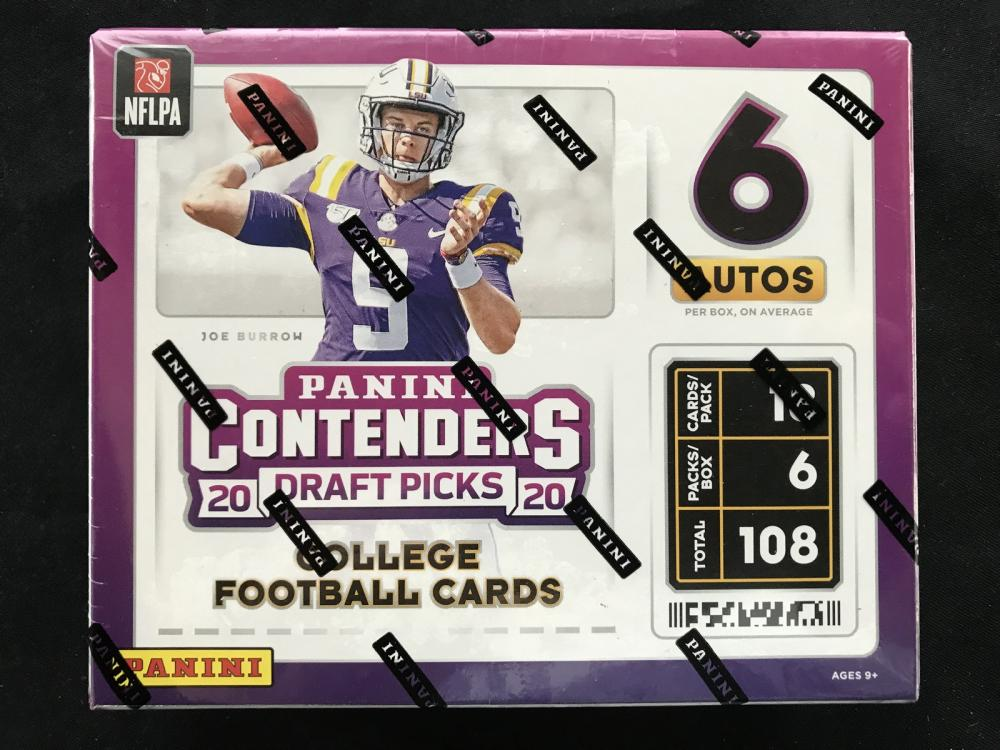 2020 Pamini Contenders Draft Picks Box