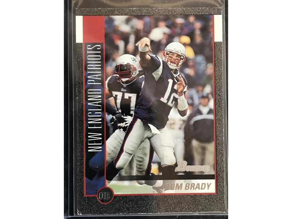 2002 Bowman Chrome Tom Brady