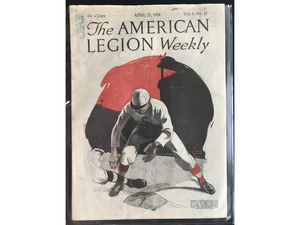 1924 American Legion Weekly Baseball Magazine