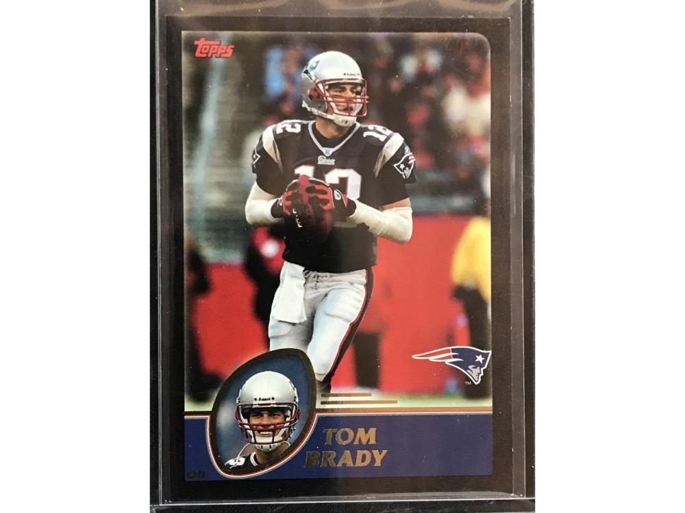 2003 Topps Tom Brady Numbered To 150