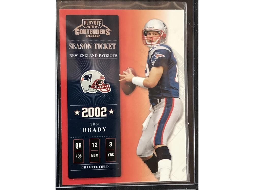 2002 Playoff Contender Tom Brady