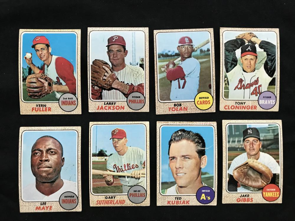 212 Estate Baseball Cards 1968-69
