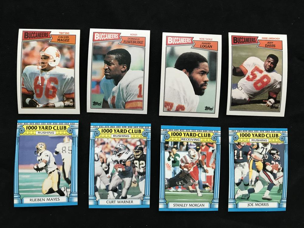 1987 Topps Football Complete Set With Wrapper