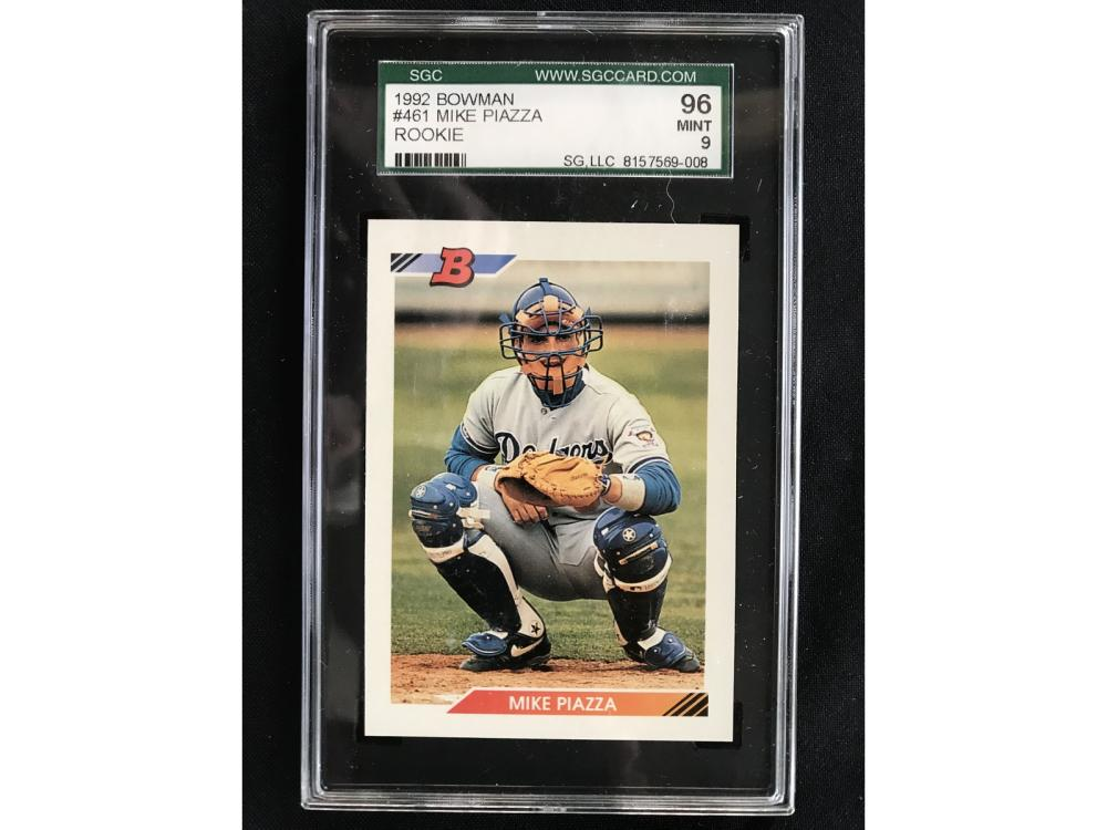 1992 Bowman Mike Piazza Rookie Sgc 96
