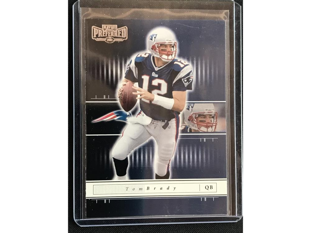 2001 Playoff Preferred Tom Brady