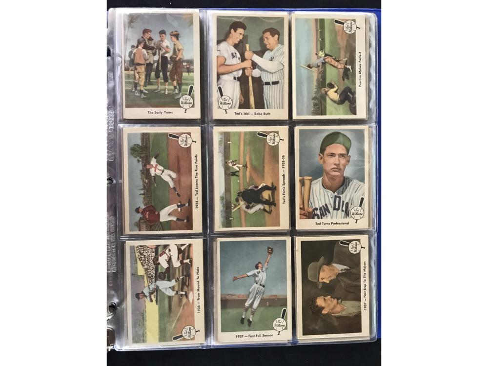 1959 Fleer Ted Williams Near Set Ex/mt