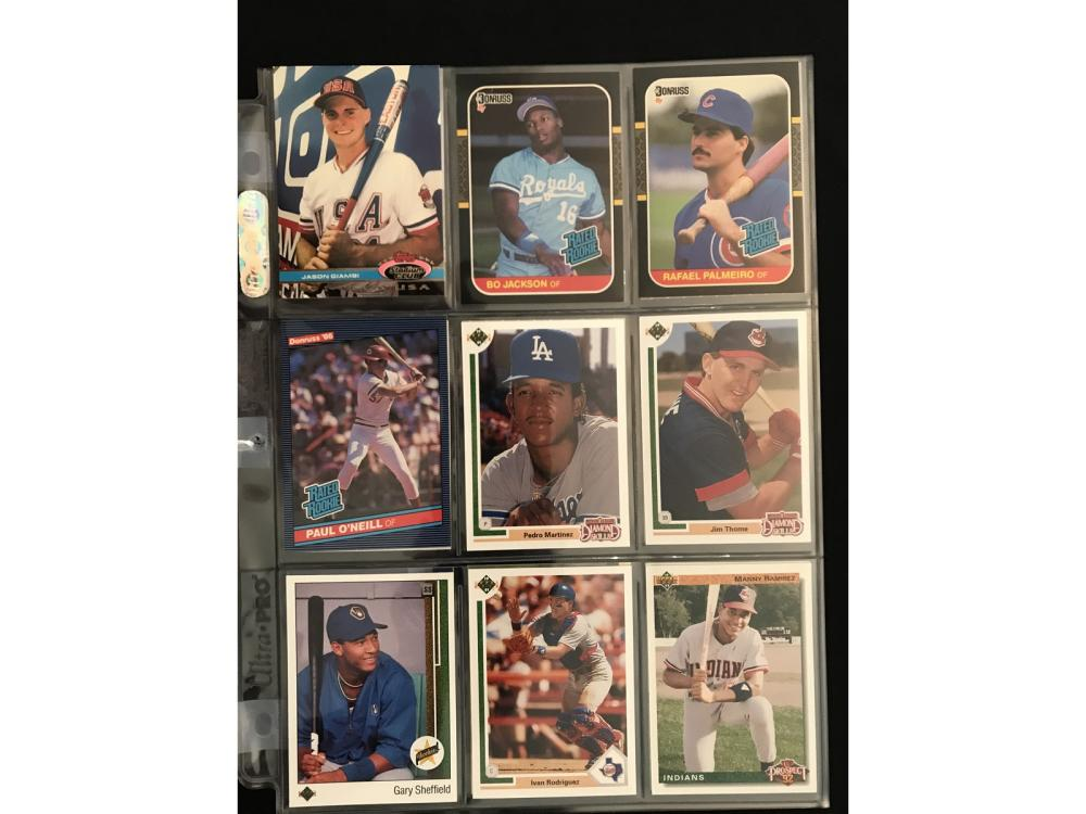 18 Hof Baseball Rookie Cards