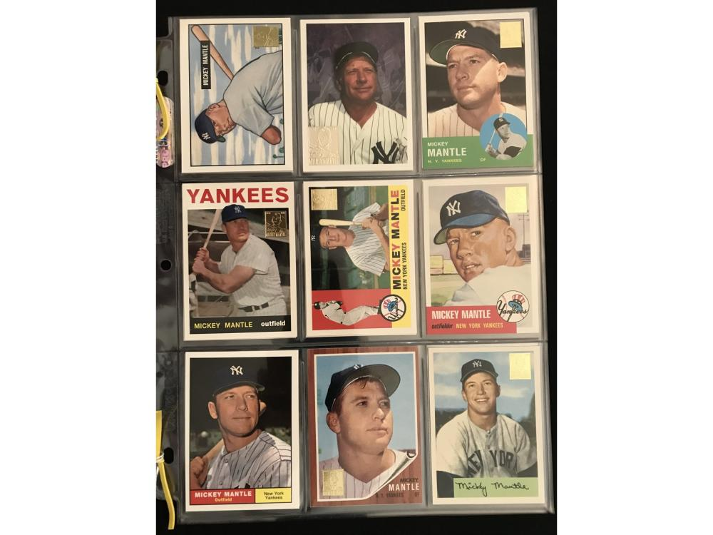 24 Mickey Mantle Insert Cards