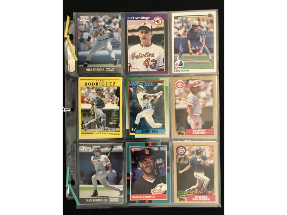 24 1980's And 90's Hof/rookie Cards