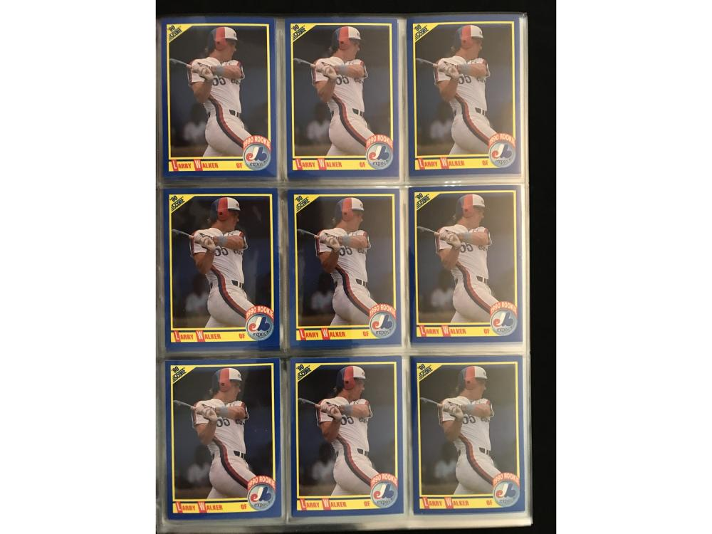 50 1990 Score Larry Walker Rookies Mint