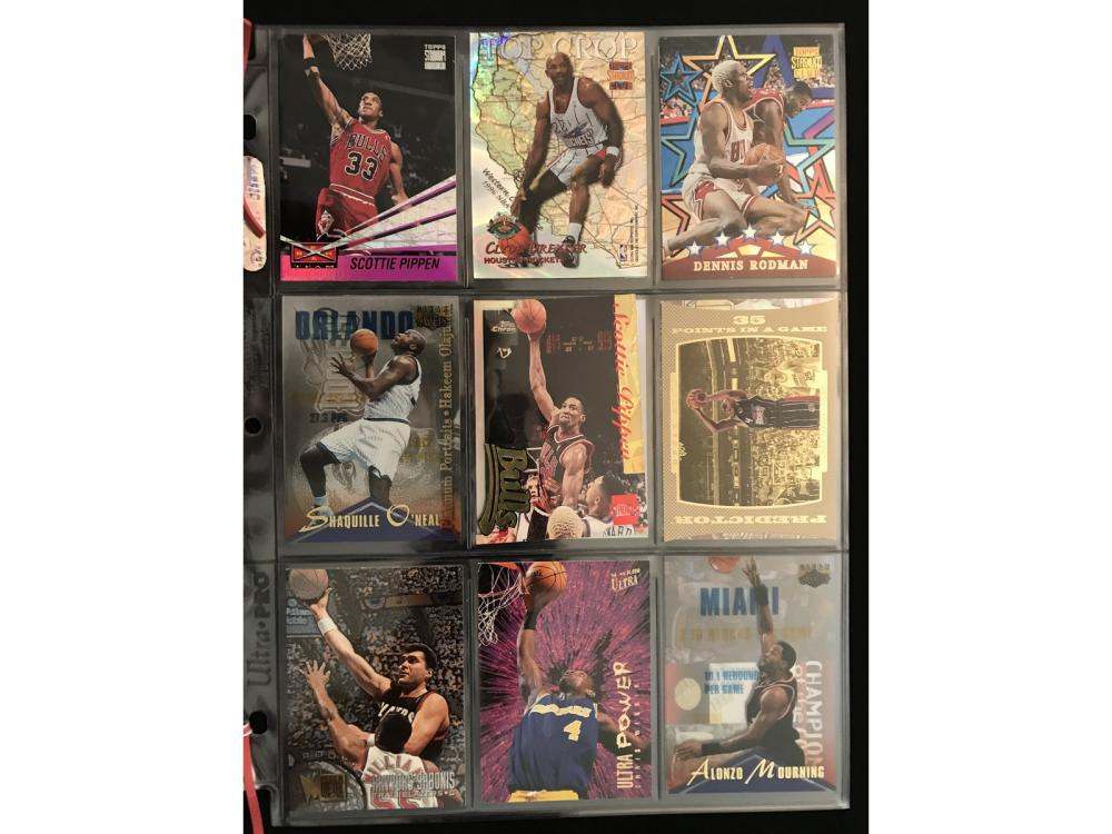 18 Modern Basketball Inserts/refractor Lot