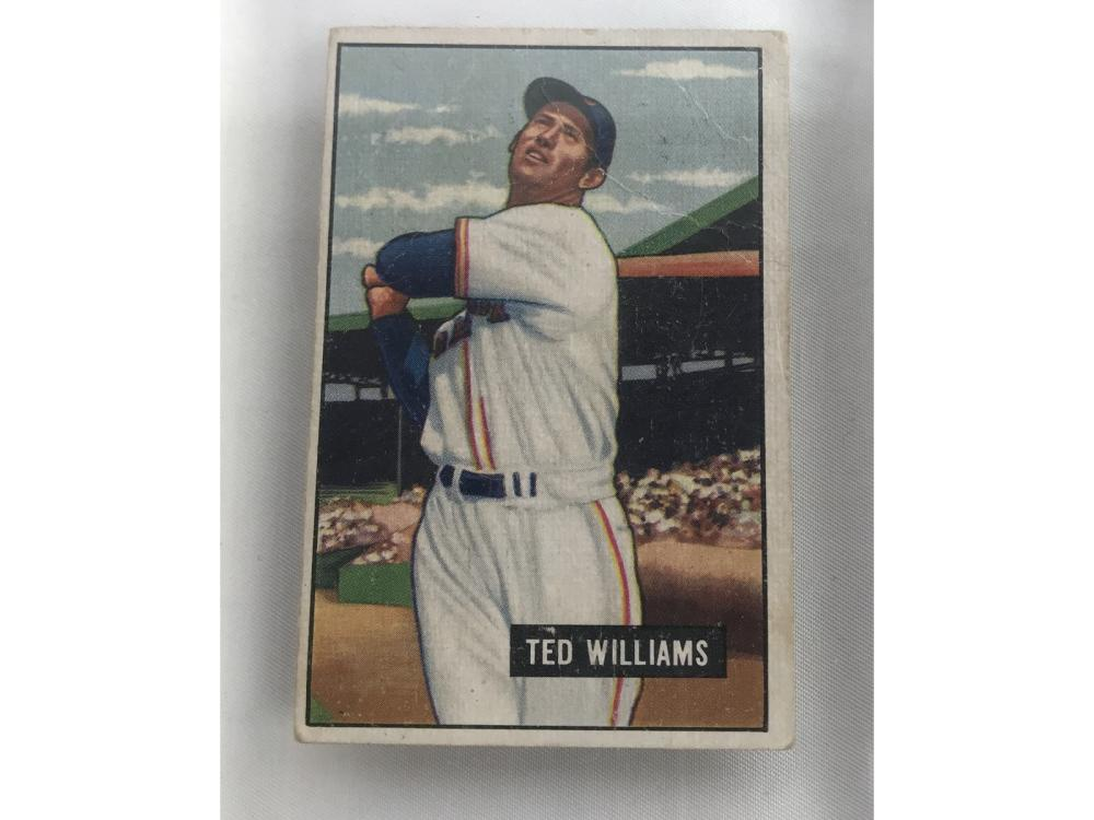1951 Bowman Ted Williams