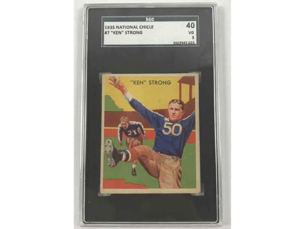 1935 National Chicle Ken Strong Sgc 3