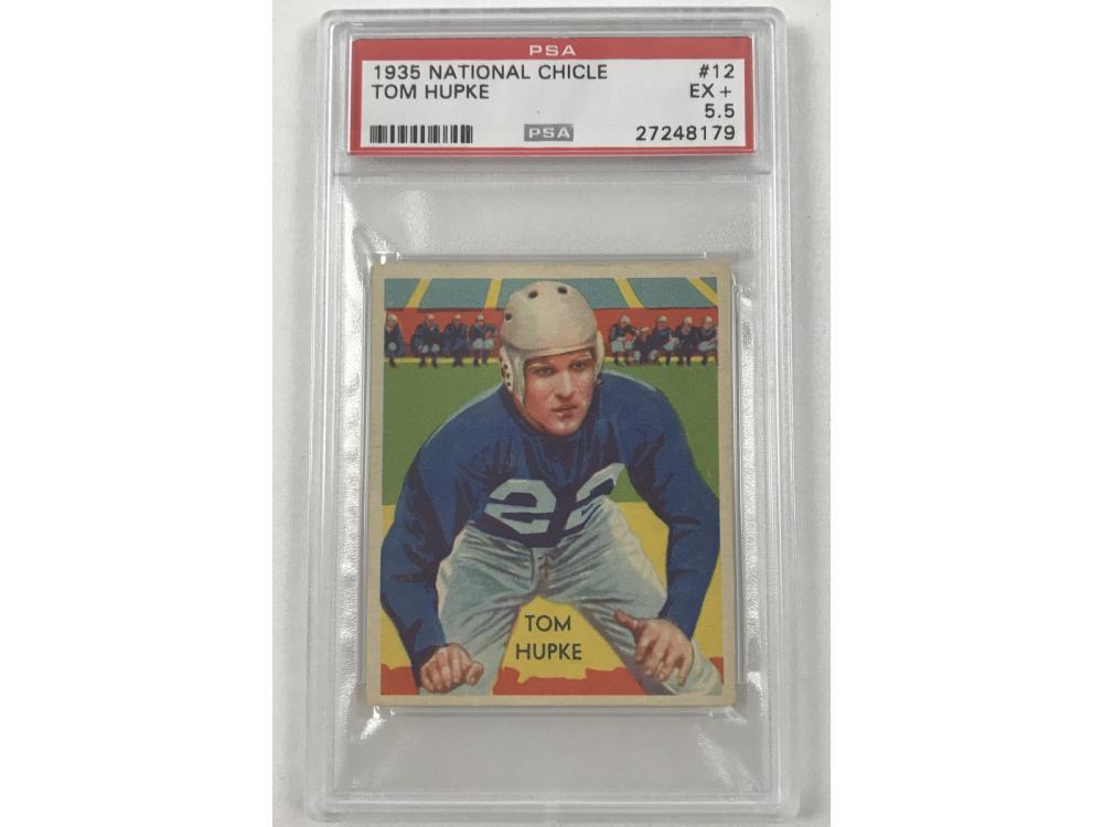 1935 National Chicle Tom Hupke Psa 5.5