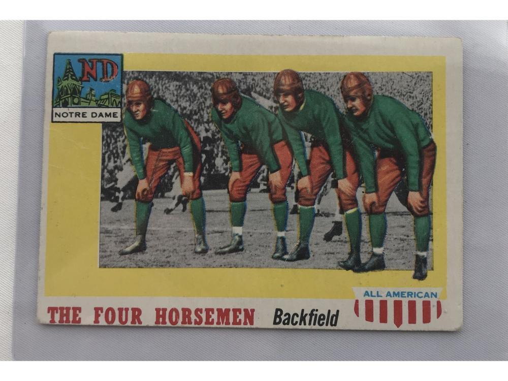 1955 Topps All American Four Horsemen