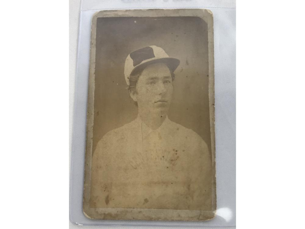 1880's Baseball Cdv