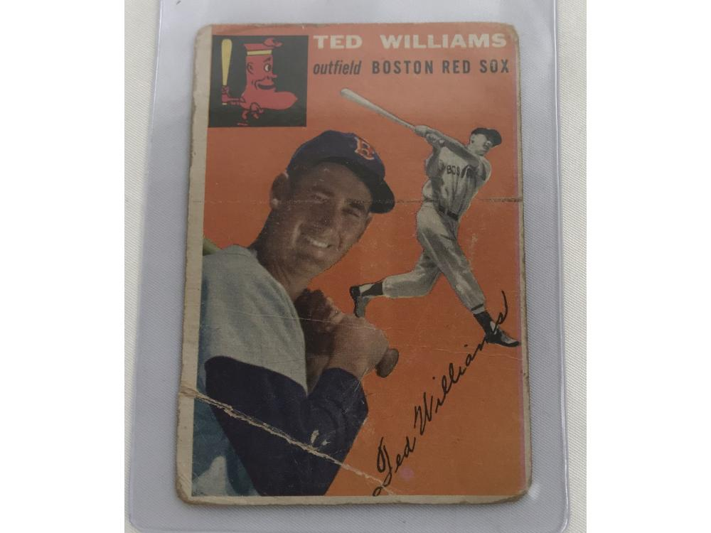 1954 Topps Ted Williams Card #1