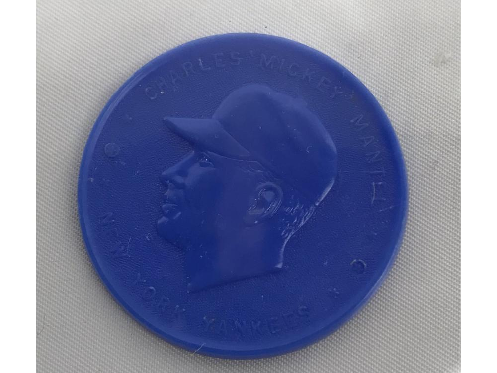 1955 Mickey Mantle Blue Coin