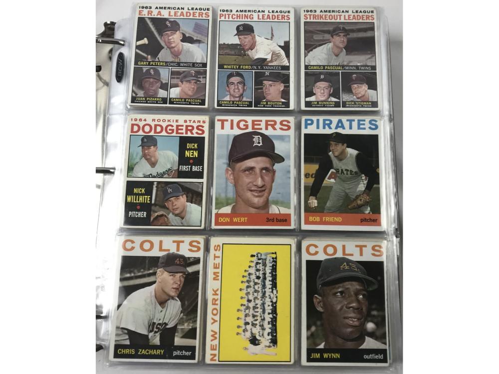 792 1964-69 Topps Baseball Cards
