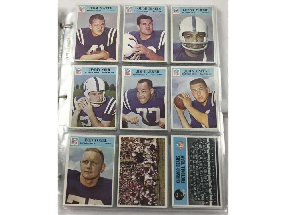 1966 Philadelpia Football Complete Set