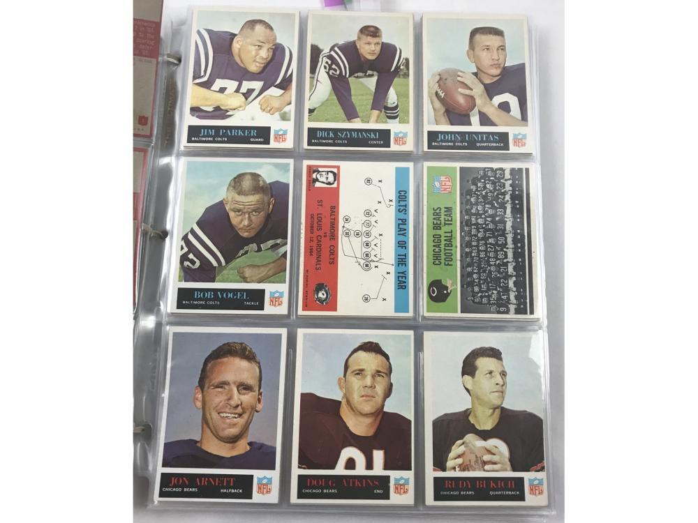 1965 Philadelpia Football Complete Set