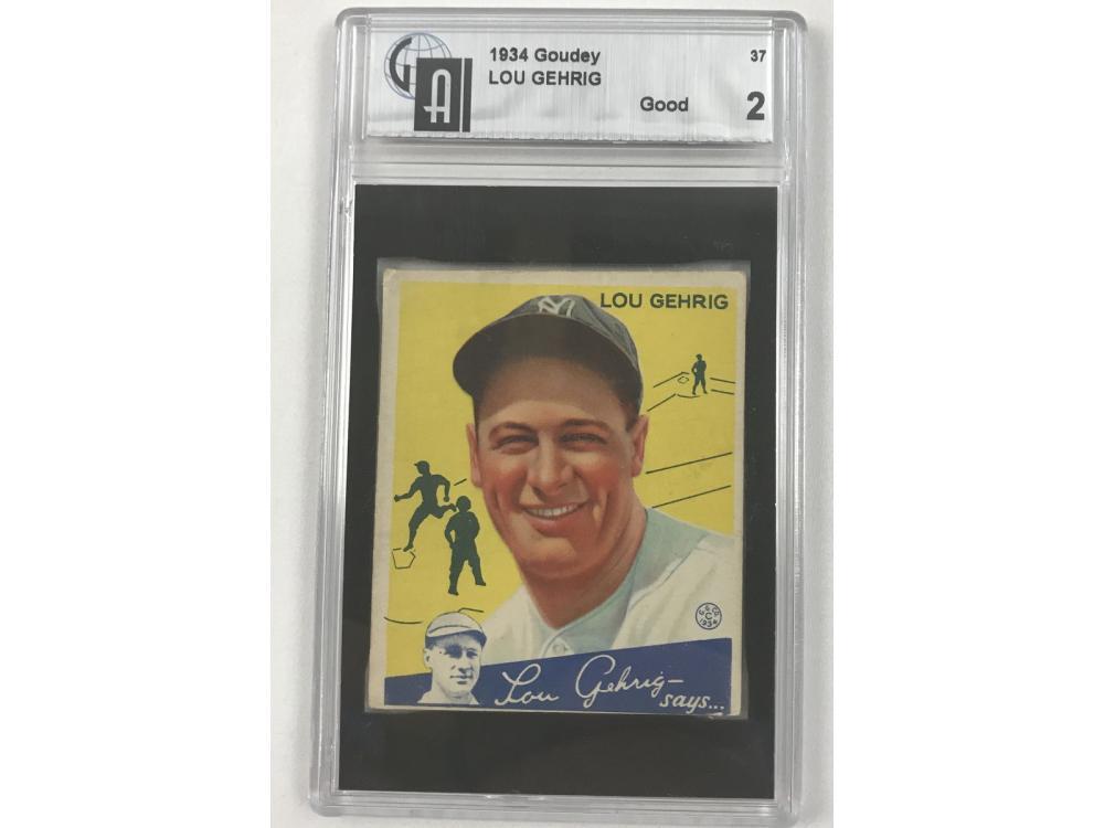 1934 Goudey Lou Gehrig Gai 2