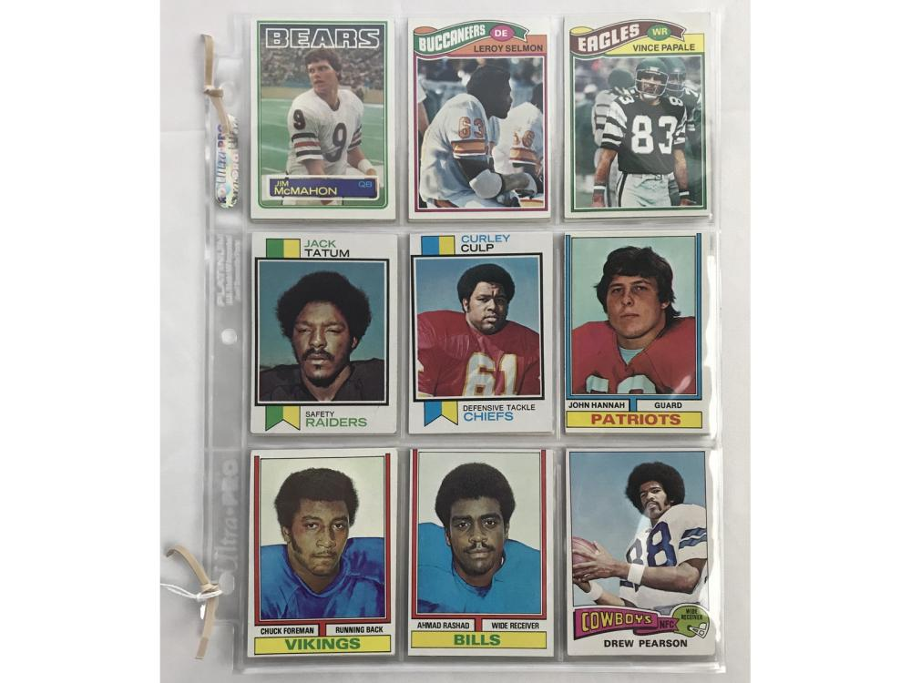 20 1970's And 80's Football Rookie Cards