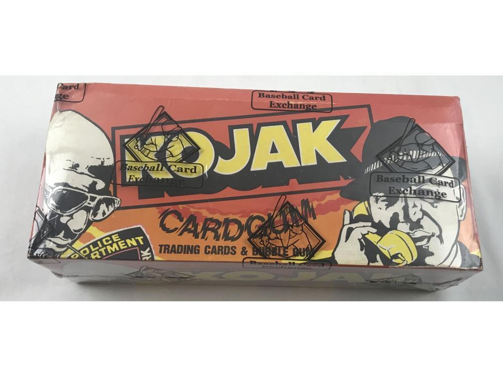 1975 Kojak Wax Box Sealed By Bbce