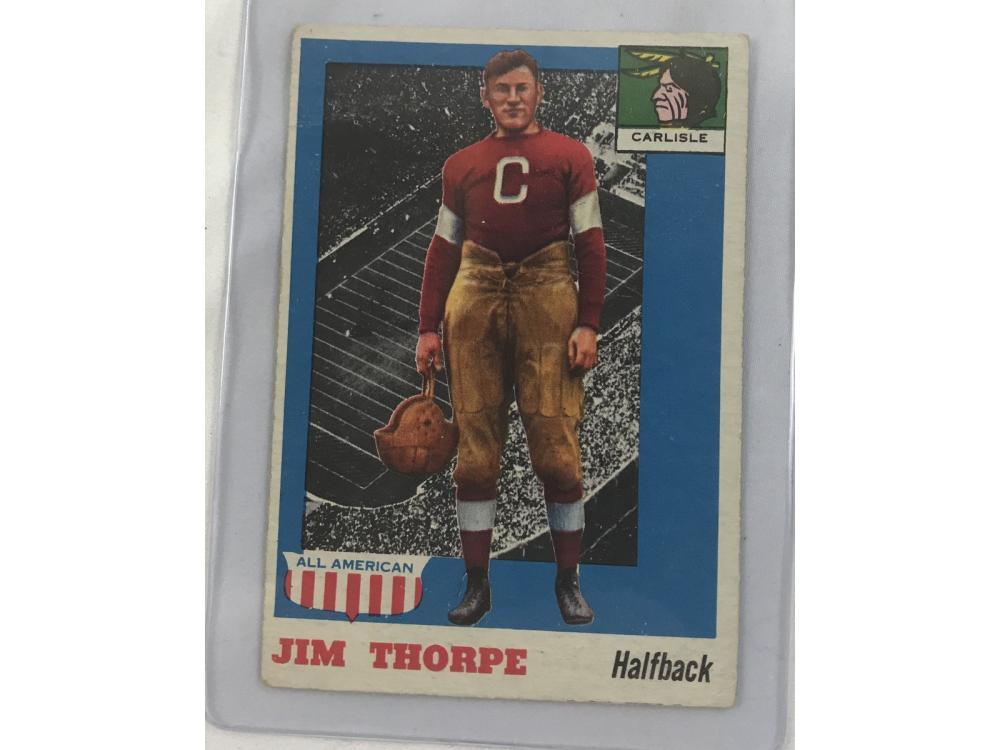 1955 Topps All American Jim Thorpe