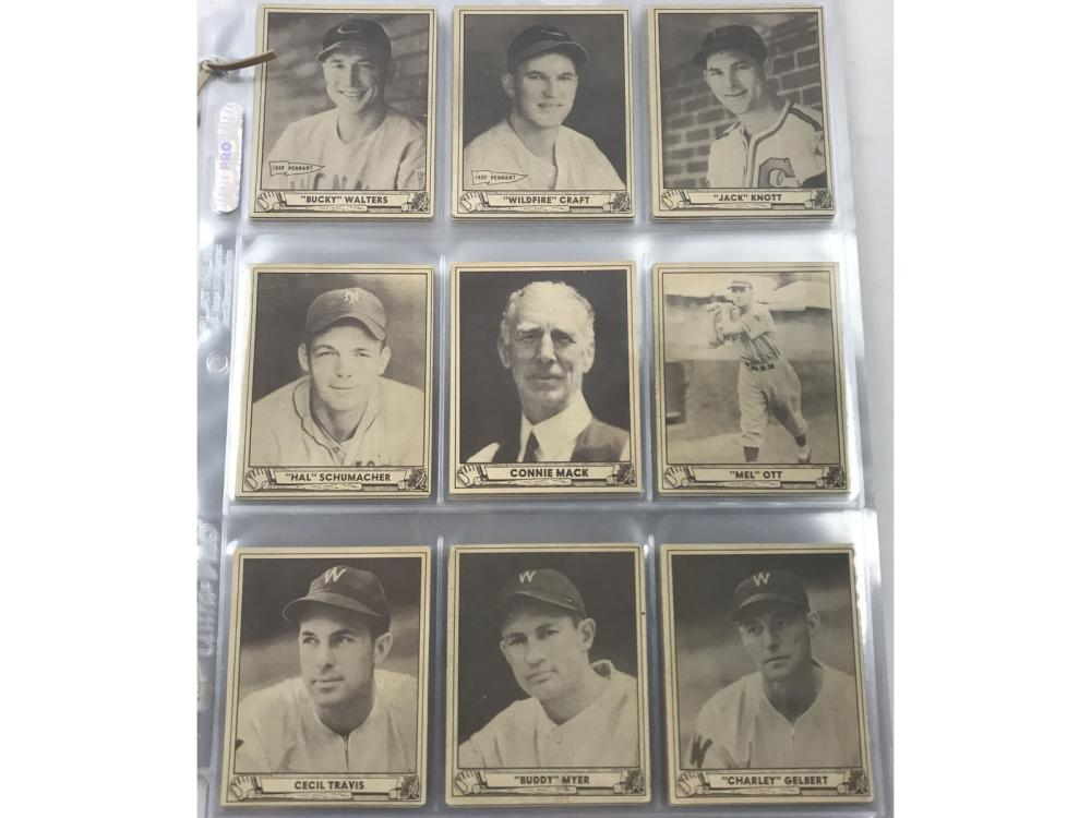 78 1940 Playball Baseball Cards