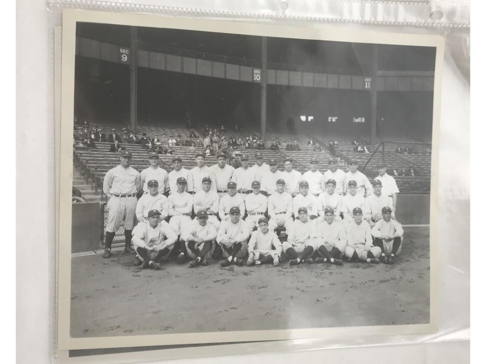 Pair Of Ny Yankee Team Photos