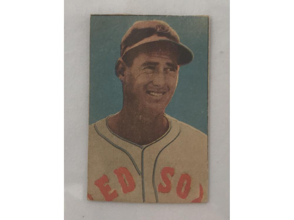 1951 Berk Ross Ted Williams Card Trimmed