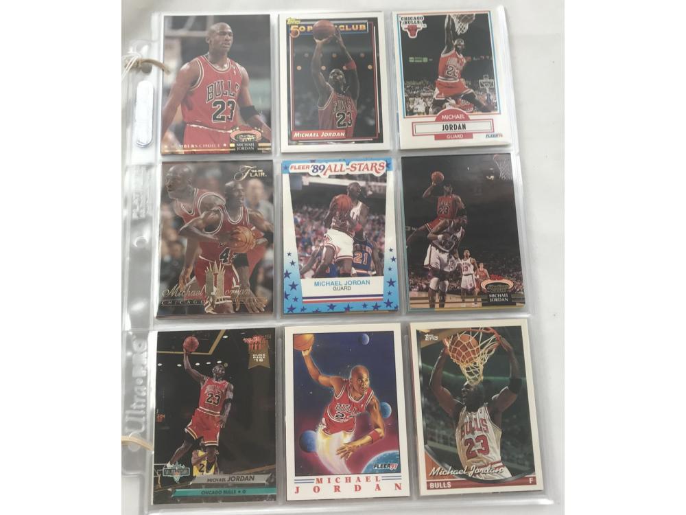 54 Michael Jordan Cards