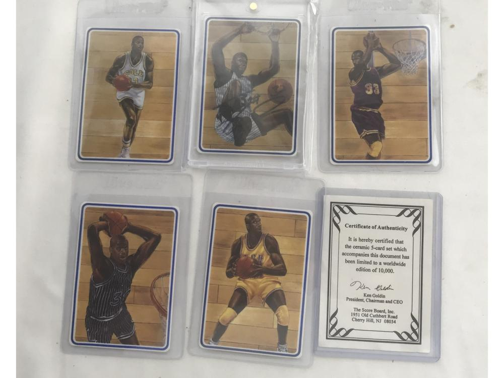 1994 Classic Shaquille O'neal 5 Card Set