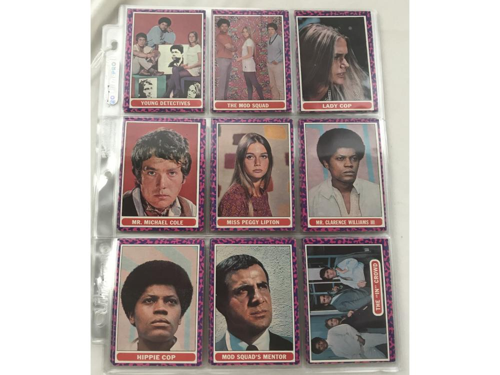 1969 Topps The Mod Squad Complete Set