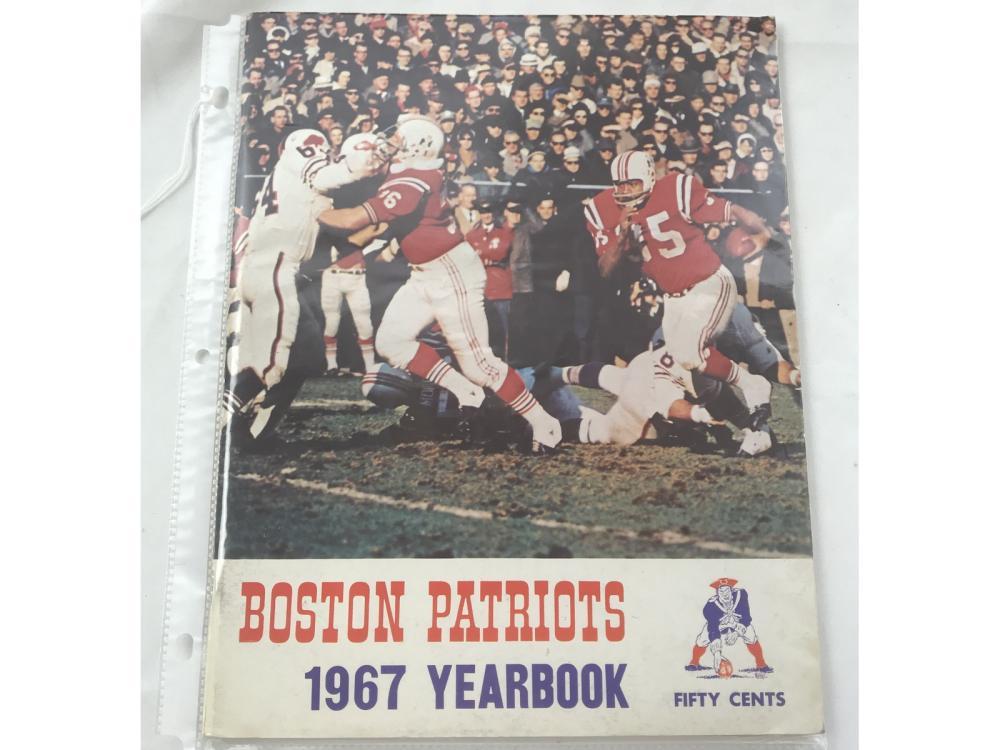 1967 Boston Patriots Yearbook