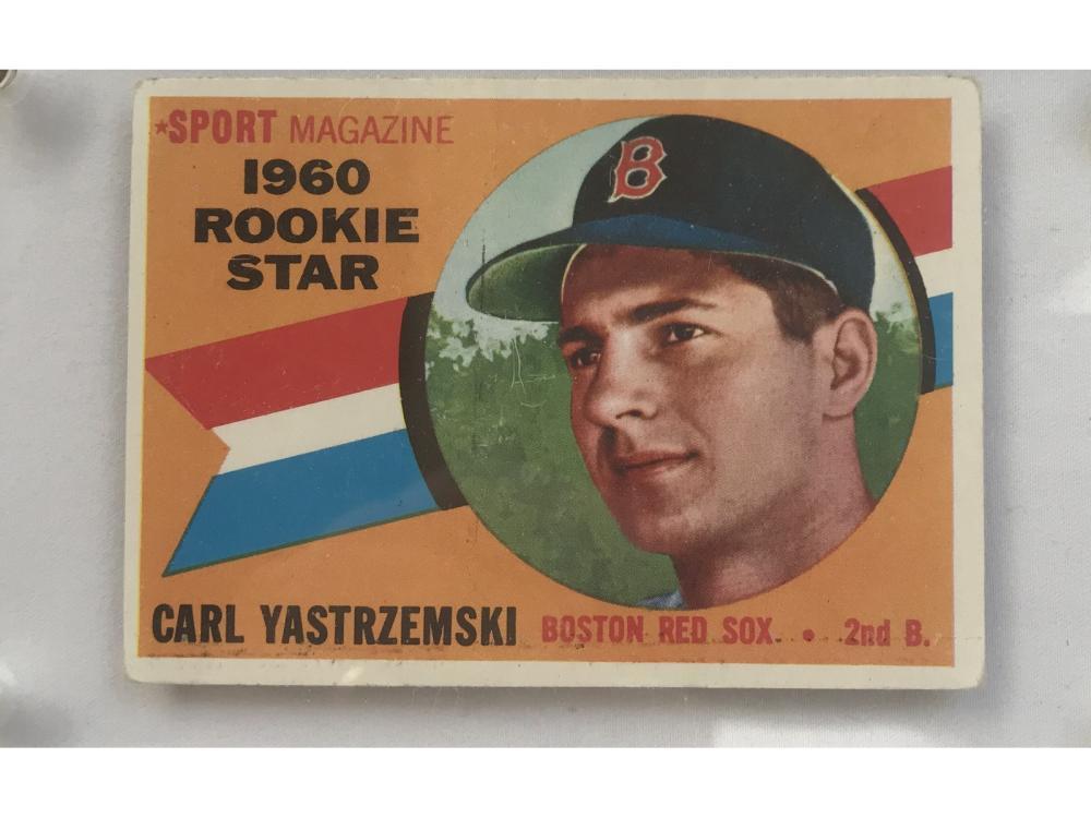 1960 Topps Carl Yastrzemski Rookie