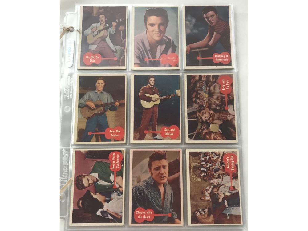 1956 Topps Elvis Complete Set