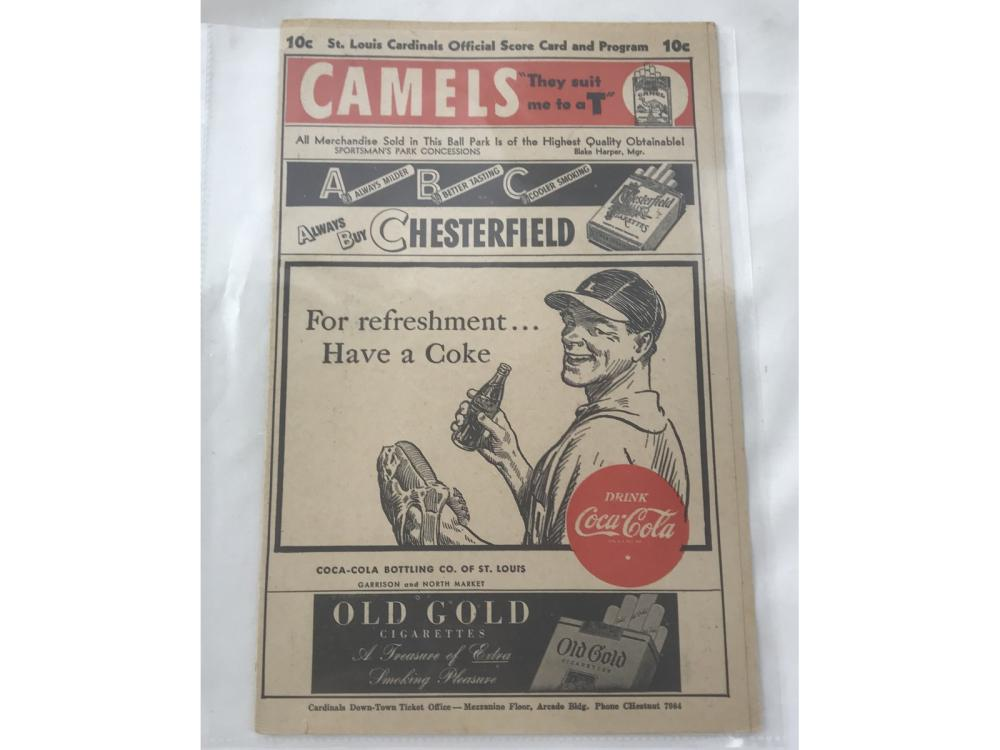 1946 St. Louis Cardinals Vs. Brooklyn