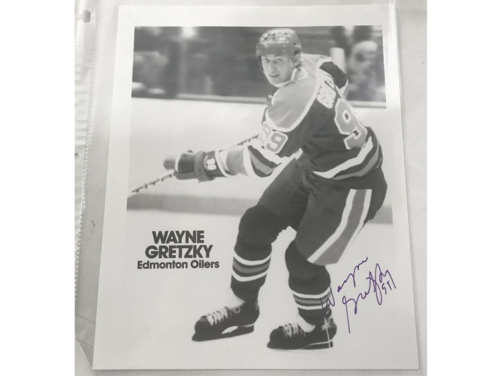 Wayne Gretzky Signed 8x10