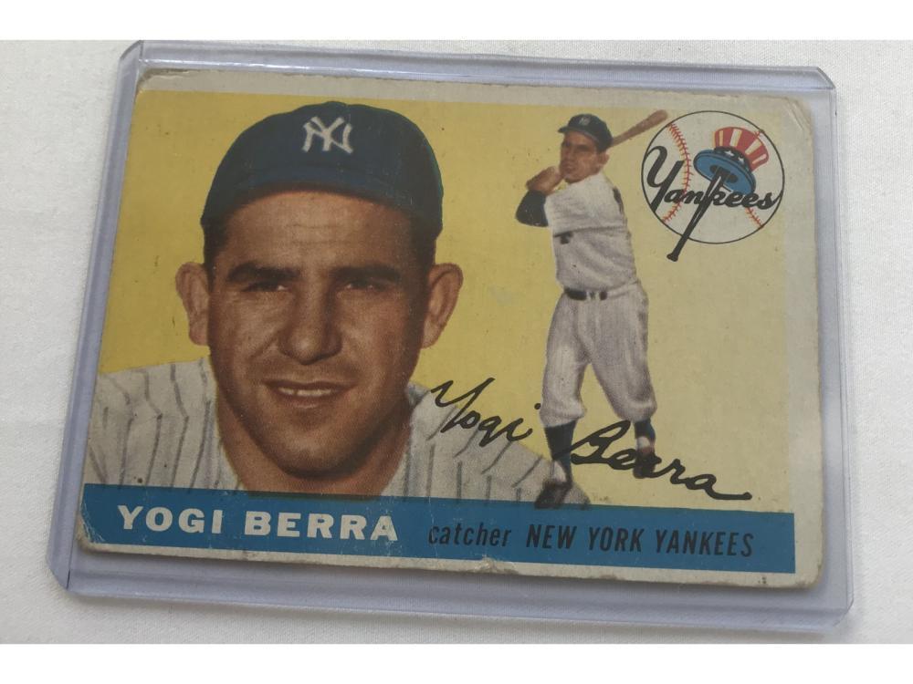 1955 Topps Yogi Berra
