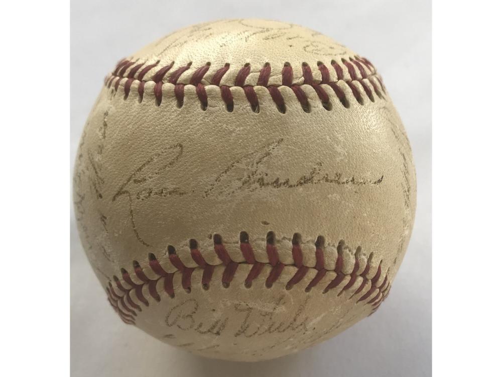 1953 Red Sox Team Signed Baseball