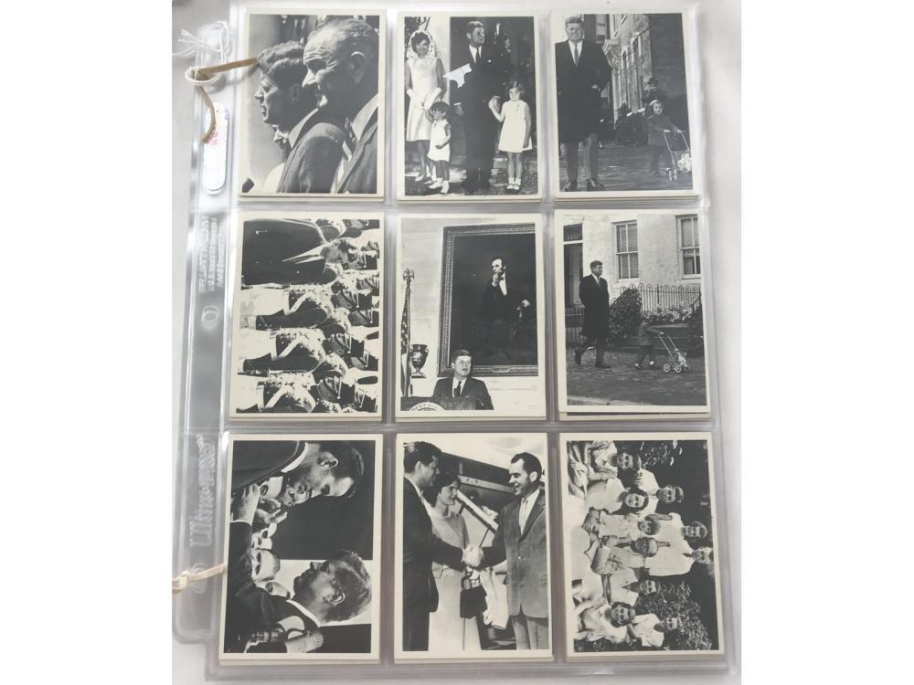1964 Topps Jfk Complete Set