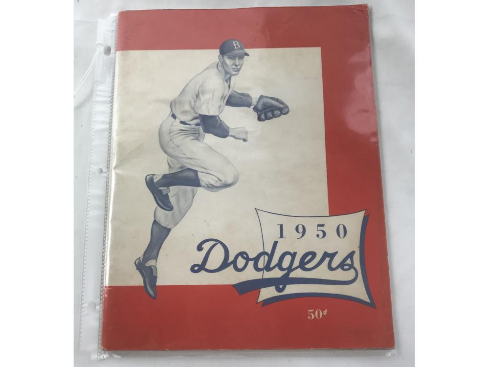 1950 Brooklyn Dodgers Yearbook