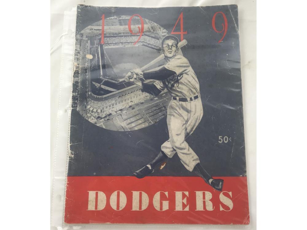 1949 Brooklyn Dodgers Yearbook