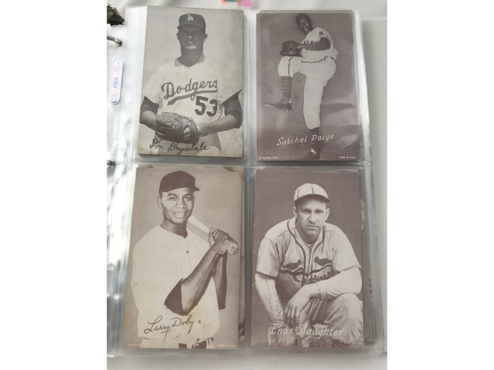 62 Baseball Exhibit Cards Stars